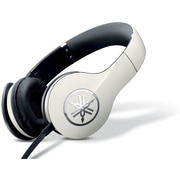 Yamaha HPH-PRO300WH High-Fidelity On-Ear Headphone with Mic, White