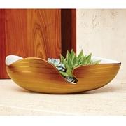 Global Views Golden Stripe Bowl
