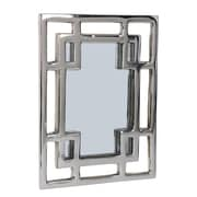 Foreign Affairs Home Decor Safari Meander Mirror; Medium
