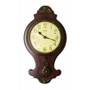 Three Star Wall Clock with Pendulum