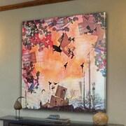 Marmont HIll West Wind-Art Print on Premium Canvas; 32'' H x 32'' W