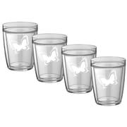 Kraftware Kasualware Designs 14 Oz. Doublewall Short Drink (Set of 4)