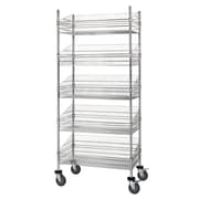 Quantum Mobile Post 80'' Five Shelf Shelving Units (Set of 5)