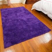 Mats Inc. Super Soft Violet Area Rug