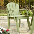 Uwharrie Plaza Dining Arm Chair; Natural Polymer