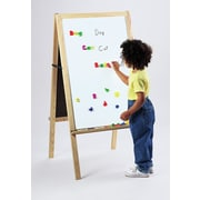 Constructive Playthings Folding Marker Tray Magnetic Double Sided Board Easel