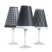 di Potter 4.5'' Classic Paper Wine Glass Lamp Shade (Set of 6)
