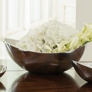 Global Views 14.25'' Spry Bowl; Aluminum