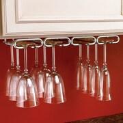 Rev-A-Shelf Hanging Wine Glass Rack; Chrome