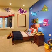Style and Apply Colorful Baby Dino Wall Decal Set