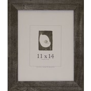 Frame USA Farmhouse Barnwood Picture Frame; Charcoal