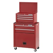 Waterloo Industries Shop Series 26'' Wide 5 Drawer Combination Sets; Red