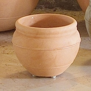 Marchioro Round Pot Planter; 17.75'' H x 23.5'' W x 23.5'' D