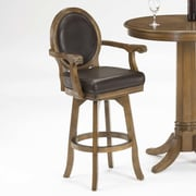 Hillsdale Warrington 26'' Swivel Bar Stool with Cushion