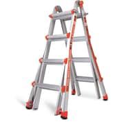 Little Giant Ladder 17 ft Aluminum Classic Model 17 Type 1A Multi-Position Ladder