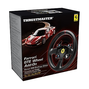 Thrustmaster Ferrari 458 Challenge Wheel Add On for PC, English