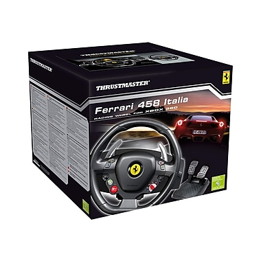 Thrustmaster Racing Wheel Ferrari 458 Italia Edition for Xbox 360/PC, English