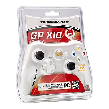 Thrustmaster - Manette GPX ID pour PC, anglais