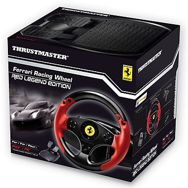Thrustmaster Ferrari Racing Wheel Red Legend Edition for PS3/PC, English