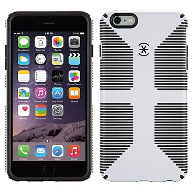 Speck CandyShell Grip iPhone 6 Plus Case, White/Black
