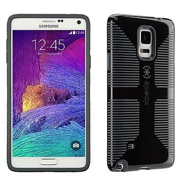 Speck CandyShell Grip Samsung Galaxy Note 4 Case, Black/Slate