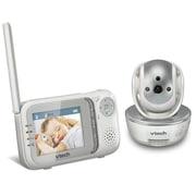 VTech – Interphone de surveillance vidéo couleur Safe & SoundMD VM333 avec balayage et inclinaison