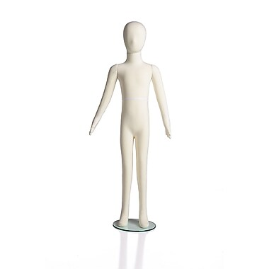 Can-Bramar RPFK 5-10 year old Soft Flexible Kid Mannequin, 50