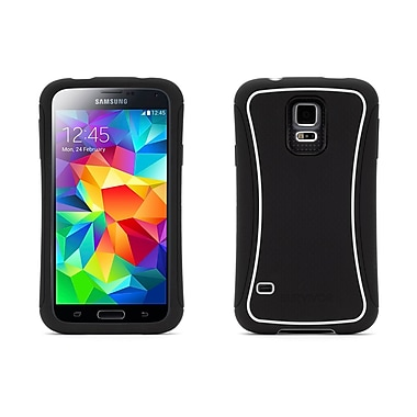 Griffin GB39852 Survivor Slim Case for Samsung Galaxy S5, Black