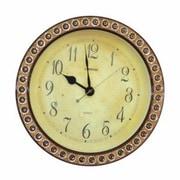 Three Star 15'' Jeweled Decorated Wall Clock
