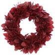 Urban Florals Traditional Red Wreath; 22'' H x 22'' W x 5'' D