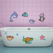 Style and Apply Colorful Sea Fish Wall Decal