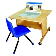 Bird in Hand 29'' x 28'' Rectangular Activity Table