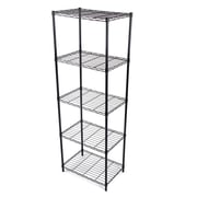 Gold Sparrow Wire 61.02'' Five Shelf Shelving Unit
