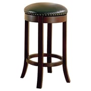 Wildon Home   Perris 29'' Swivel Bar Stool with Cushion (Set of 2)