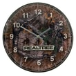 TMD Holdings Realtree Field and Stream 13.75'' Glass Clock