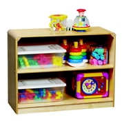 Korners 2 Shelves Storage Cabinet