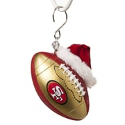 Team Sports America NFL Team Ball Ornament; San Francisco 49ers