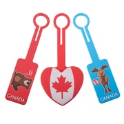 Austin House - Étiquettes à l'effigie du drapeau canadien, variées