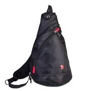 Swiss Gear Sling Bag with RFID Blocking Pocket, Black