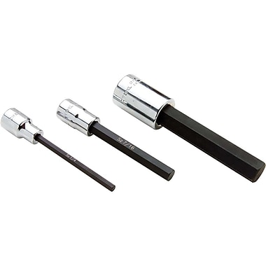 Gray Tools Extra Long Hex Head, Chrome Finish Sockets