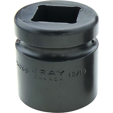 Gray Tools 4 Point Standard Length, Impact Sockets