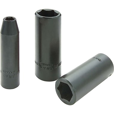Gray Tools 6 Point Deep Length, Impact Sockets, Drive size: 3/8