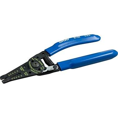 Gray Tools Stripper/cutter Plier, 7-1/4