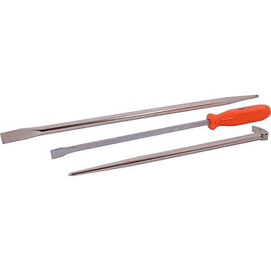 Gray Tools 3 Piece Assorted Pry Bar Set