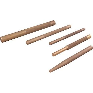 Gray Tools 5 Piece Brass Drift Punch Set