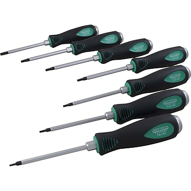 Gray Tools 7 Piece Torx Screwdriver Set, T8-T30