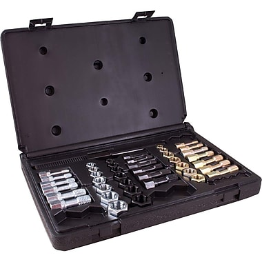 Gray Tools 42 Piece Rethreading Kit, 19 Taps, 21 Dies & 2 Thread Files