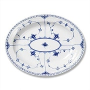 Royal Copenhagen Blue Fluted Half Lace Oval Platter