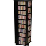Venture Horizon VHZ Entertainment 1160 CD Multimedia Revolving Tower; Black