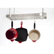 Advantage Components Expandable Rectangle Pot Rack; Stainless Steel